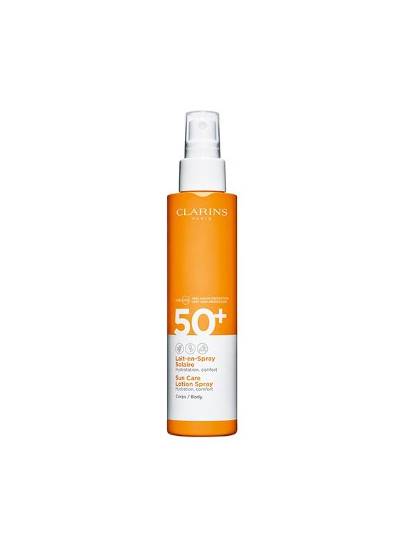 Spray Solaire Hydratant Pour Corps Raisin / Uvb 50+