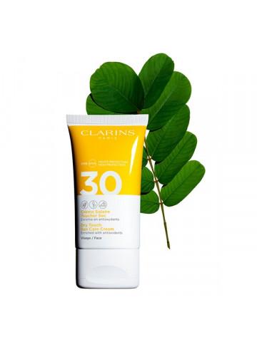 Crema Solar Tacto Seco Rostro Uva/Uvb 30