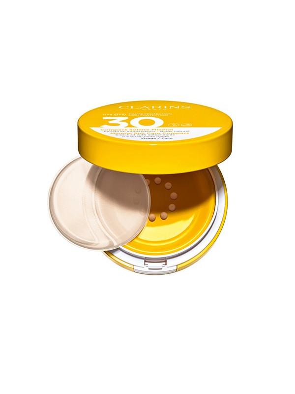 Uva / Uvb 30 minéral solaire compact avec couleur