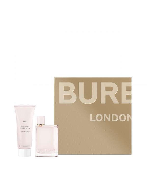 Burberry Her EDP 50ml + BL 75ml eclair parfumeries