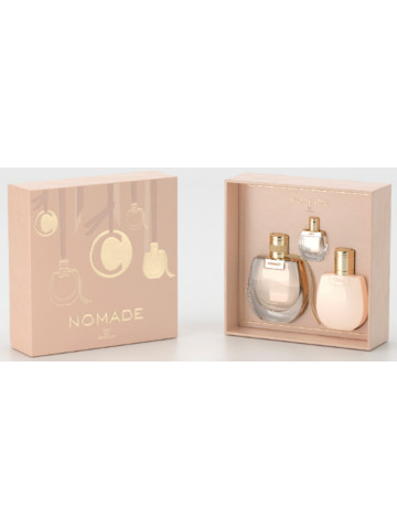 Chloe Nomade EDP 75 ml + Lait Corps 100 ml + Mini 5 ml Eclair Parfumeries