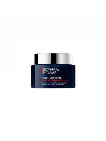 Biotherm Homme Force Supreme Black Regenerating Care Crema Antiedad De Noche
