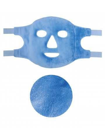 Pearl Therm Face Mascarilla ajustable de perlas de gel terapéuticas