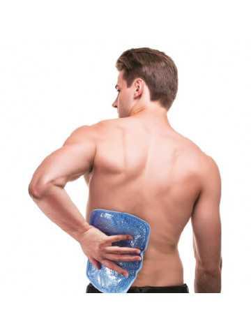 Pearl Therm Banda regulable para el cuerpo con perlas de gel terapéuticas frío/calor