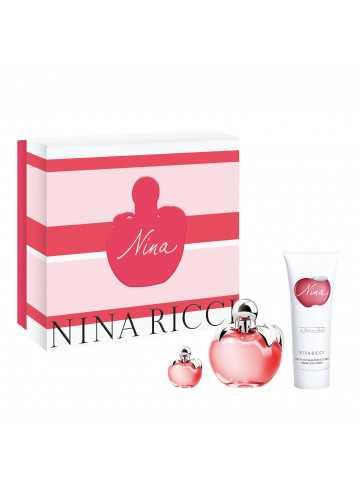 NINA Estuche para mujer EDT 50 ml + Body Lotion 75 ml +Mini