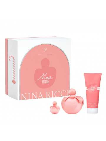NINA ROSE Estuche para mujer EDT 50 ml + Body Lotion 75 ml + Mini
