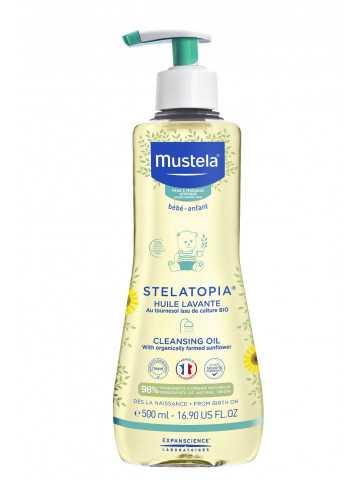 Stelatopia Aceite de Baño y Ducha con Girasol BIO 500 ml